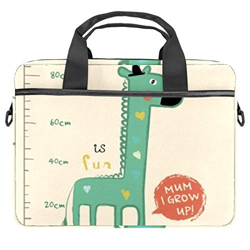 13.4'-14.5' Laptop Case Notebook Cover Business Daily Use or Travel Giraffe Grows Tall
