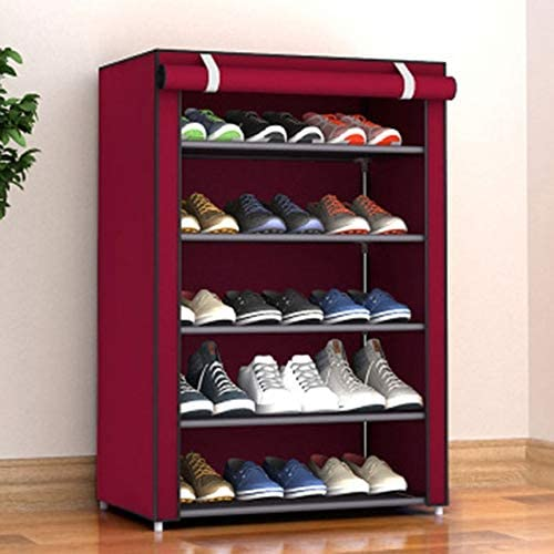 Credence HAIBOMY Shoe Rack Non-Woven Storage Now free shipping Fabric Cab Hallway