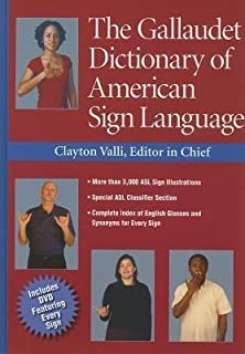 The Gallaudet Dictionary of American Sign Language with DVD