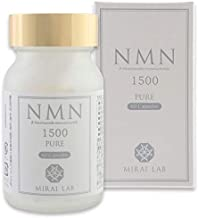 NMNピュア1500 60粒 NMN β-ニコチンアミドモノヌクレオチド 1500mg 配合