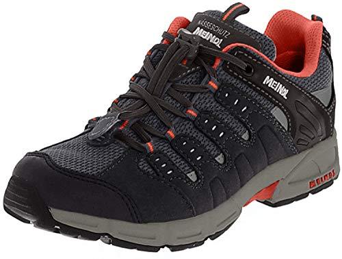 Meindl Chaussures Unisexes pour Enfants. - - Graphite Orange, 36 EU
