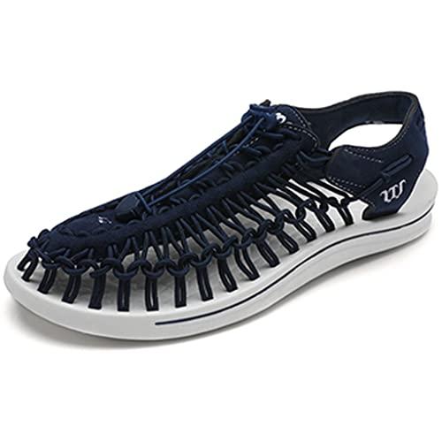 YUESFZ Zapatos para Caminar Al Aire Libre Femeninos, Botas Anfibias De Secado Rápido para Hombre, Sandalias De Playa Antideslizantes De Verano (Color : H, Size : US-6.5(Men))