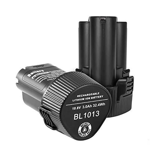 Reoben 互換BL1013 マキタ 10.8v バッテリー マキタ バッテリー マキタ互換バッテリー 10.8v 【2個セット】 3000mAh 10.8v バッテリー BL1013 BL1014 194550-6 194551-4 DF030D DF