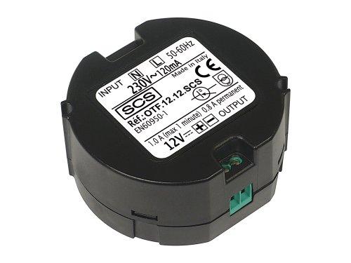 SCS SEN4139545 Transformator, Netzteil 12 Volt, Stromversorgung für C-/Türöffner/Tastatur/Maus/Türklingel Türsprechanlage