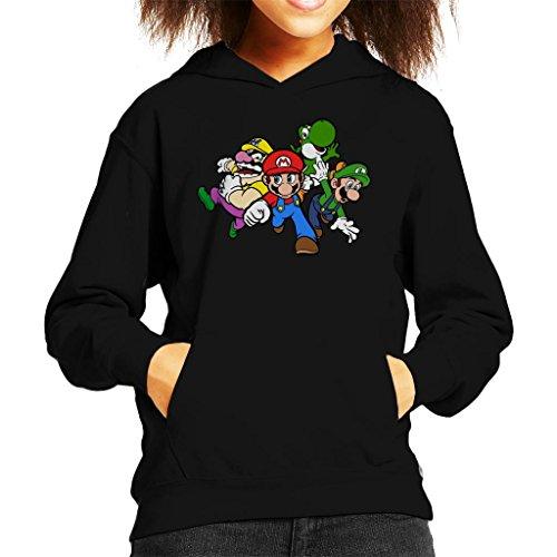 Cloud City 7 Team Super Mario Kid's Hooded Sweatshirt