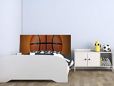 Cabecero fabricado en PVC de 5mm Cabecero de Cama impreso digitalmente en PVC Cabecero Ecónomico ideal para decoración de habitaciones Fácil colocación, resistente, ligero, aislante y de larga durabilidad Medidas: 115 cm de largo x 60 cm de alto
