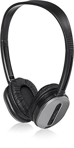 Rapoo H1030 Wireless Stereo Headset/ Kopfhörer (2,4 GHz, integriertes Mikrofon) silber