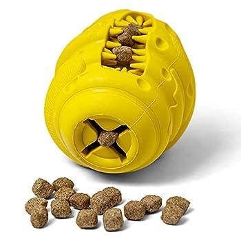 PAW Bear - jouet à mâcher pour chiens, jouets pour chiens, distributeur de nourriture pour soins dentaires en caoutchouc naturel non toxique et résistant aux morsures (caoutchouc naturel).