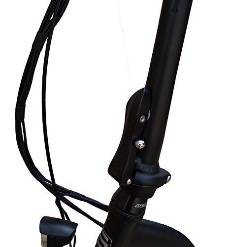 416UXczlJgL - SAXXX Foldi Plus Faltrad Klapprad E-Bike Pedelec Vorderradmotor 7,8Ah 250W 36V Lithium-Ionen Akku Shimano 3Gang Nabenschaltung mit Rücktritt