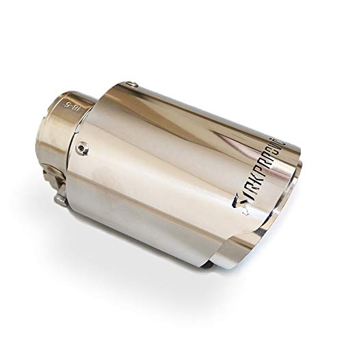 JGF 48/51/54/57/60/63/66/70/73/76/80/84/89MM Tubos De Escapes Tubo De Escape Coche Tubos De Escape Coche Escape Akrapovic Tubos De Escape Coche Universales (80MM)