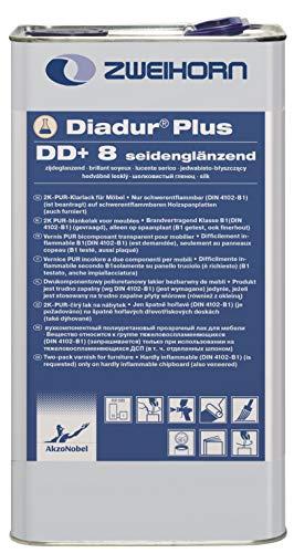 Zweihorn Diadur Plus 2K-PUR Klarlack DD+ 8 Seidenglänzend (5 Liter)