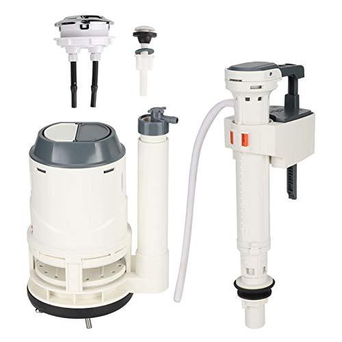 Válvula de llenado de inodoro de gran diámetro Kit de válvula de descarga de inodoro de 3 pulgadas - Función de sifón Piezas de repuesto de inodoro duraderas Accesorios de inodoro