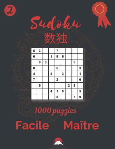 Sudoku | 1000 Grilles | 292 pages | Facile à Maître | Notebook Size
