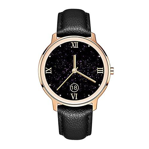 ZBY S06 Smart Watch Pulsera Femenina Metal De Oro Ratón Cardíaco Smart Watch Dial Personalizado Strap Smart Watch,C