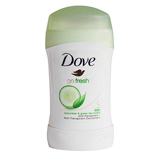 6x Dove Go Fresh 30ml Deodorant deo Stick Gurke Grüner Tee 48hr Antitranspirant