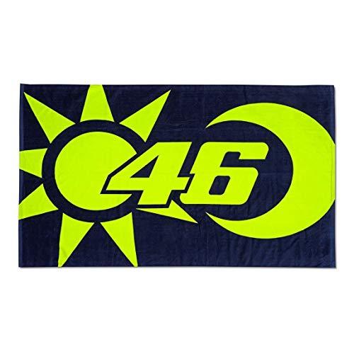 Valentino Rossi Vr46 Classic-Accessories, Hoja Mare Unisex Adulto, Multicolor, 100x170 cm