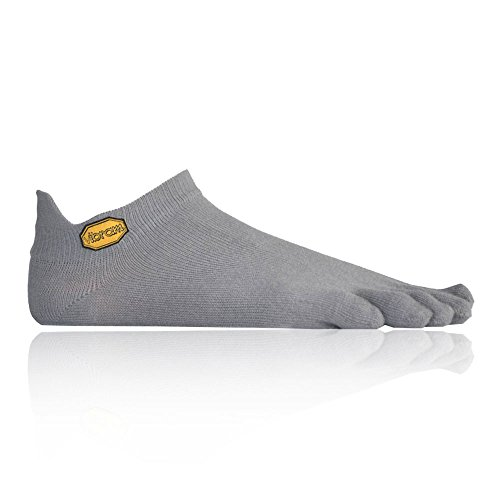 Vibram FiveFingers, Athletic No Show Socks L Gris