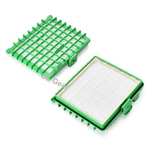 Pack de 2 filtres Hepa pour les aspirateurs Rowenta ZR002901 Silence Force (RO5745EA non compatible) - GL Gear