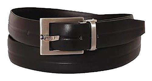 BOSS Ceinture unisex casual belt leather black