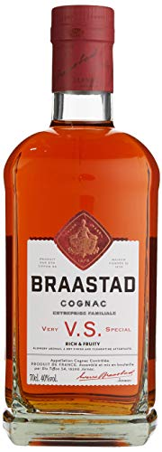 Braastad Cognac VS, 40 % vol, 1er Pack (1 x 700 ml)