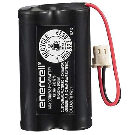 RadioShack/Enercell Rechargeable Cordless Phone Battery - Catalog No. 2301276
