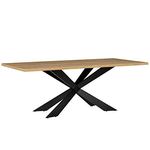 [en.casa] Tavolo da pranzo per 6-8 sedie cucina rettangolare sala da pranzo salotto set