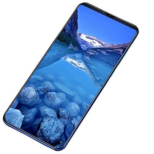 WXZQ Teléfonos Inteligentes Originales para P35 Pro 1G RAM + 4GB ROM 4G Red Android Reconocimiento Facial Teléfonos móviles desbloqueados Gradient Blue EU