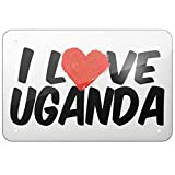 GUANGZHOU I Love Uganda Retro Metal Sign Wall Plaque Kunst