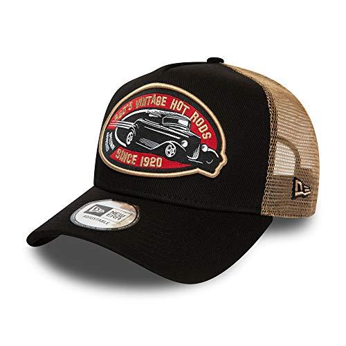 New Era Hot Rod Trucker Pack BRW Kappe Unisex Erwachsene, Brown, Einheitsgröße