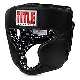 Title Boxing Classic Coverage Headgear 2.0, Black, Regular