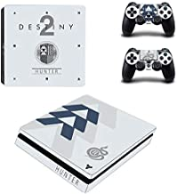 Bafna Anusha PS4 Slim Skin and DualShock 4 Skin - Video Game - PlayStation 4 Slim Vinyl Sticker for Console and Controller Skin