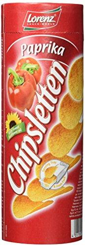 Lorenz Snack World Chipsletten Paprika, 15er Pack (15 x 100 g)