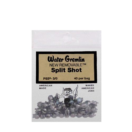 Water Gremlin Company PSS-B Wechselbarer Split-Shot 70 Stück, Mehrfarbig, Einheitsgröße