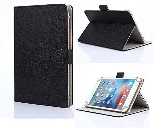 Funda Unversale para tablet de 7 a 8 pulgadas, Tasvicoo, estilo libro, función atril, para todas las tabletas de 7/7,85/7,9/8 pulgadas (negro)