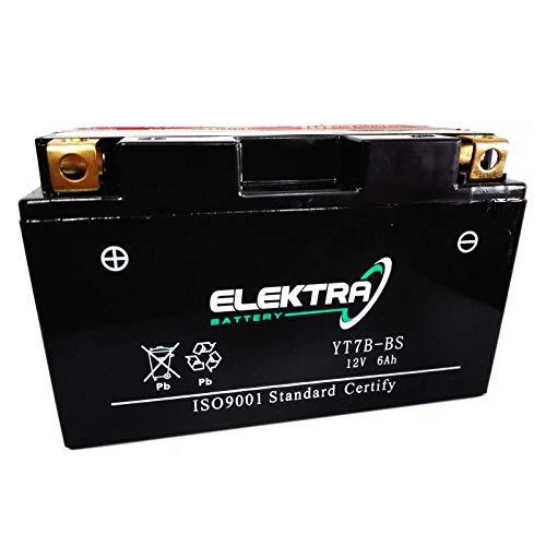 Batteria sigillata Elektra YT7B-BS/YT7B-4 12 V 6,5 Ah 120 CCA