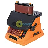 450W Oscillating Spindle and Belt Sander TSPST450 Dual Action Rotation
