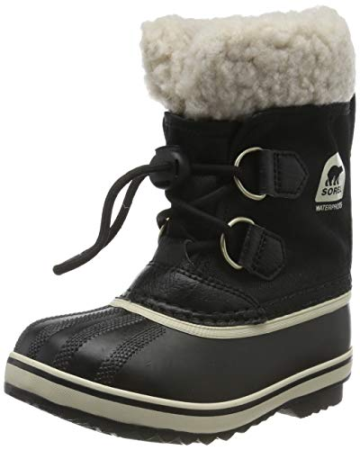 Sorel Yoot Pac Nylon Cold Weather Boot, Black, 8 M US Toddler