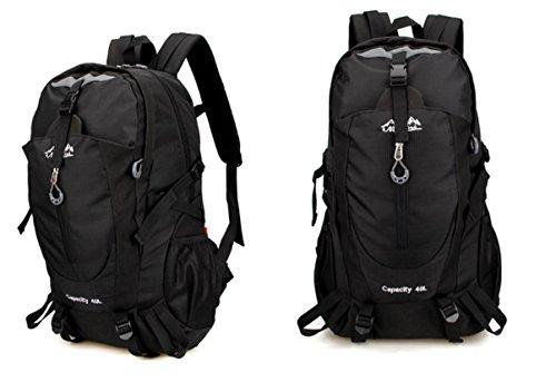 Imperméable à l'eau multifonctionnel sports de plein air sacs à dos sacs de sport outdoor alpinisme sac sport voyage épaule , black