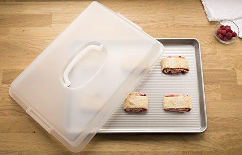USA Pan Bakeware Nonstick Half Sheet Pan, Lid