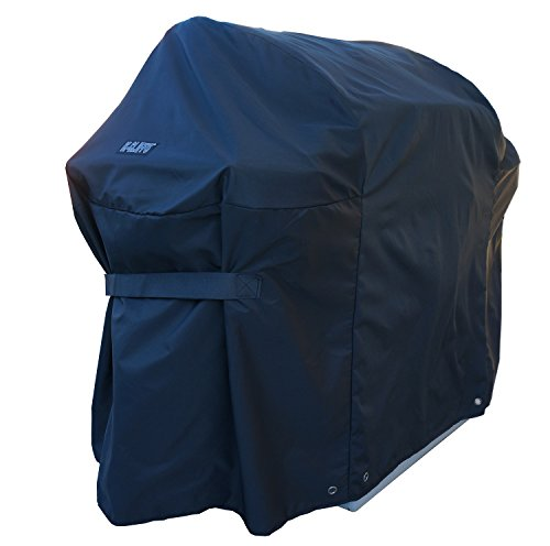 iHIM BBQ Gas Grill Cover Heavy Duty Waterproof Barbecue Propane Pro Grills Outdoor Protector Weather Dust Resistant Large 60 x 44 Inch Black Color