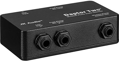 JK Audio Daptor 2 DAP2 Wireless Phone Audio Interface for use with Cell Cordless Phones product image