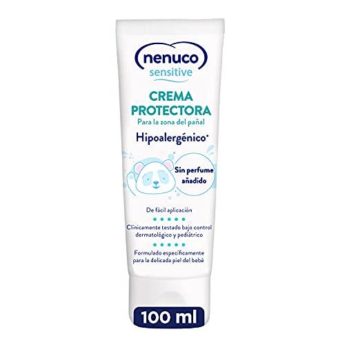 Nenuco Nenuco Sensitive Crema Protectora para la zona del pañal, Hipoalergenica y Sin Perfumes Añadidos - 100ml 30 g