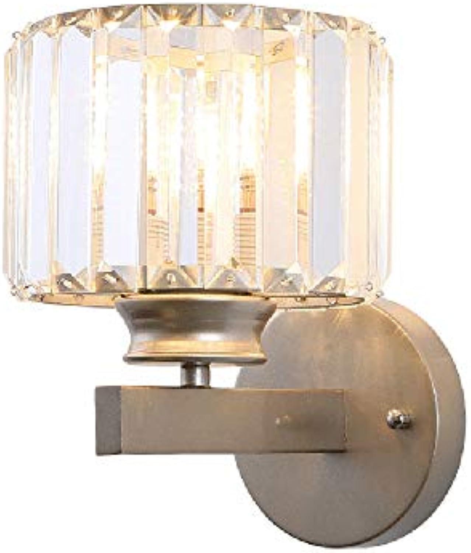 Kristall Wandleuchte Moderne Dekorative Kristall Wandlampe E27 Nachttisch Lampe Schlafzimmer Durchgang Wohnzimmer Wandleuchte Haus Dekoration,Birnen sind Nicht Enthalten