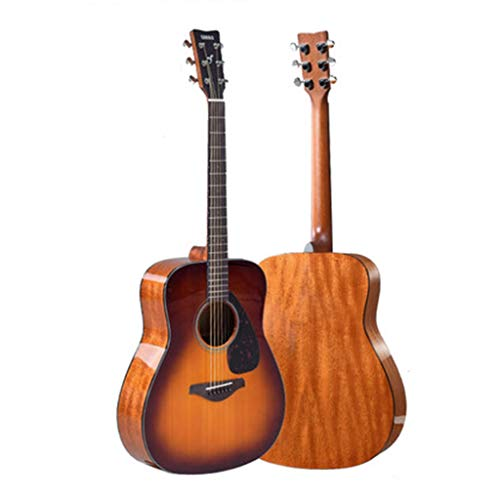 Instrumentos musicales Guitarra eléctrica Yamaha Fg800BS Junta Folk eléctricos Box Principiante Hombres...