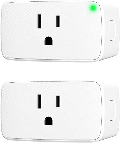 VOCOlinc Smart Plug Mini Siri WiFi Outlet Socket Works with HomeKit (iOS13+) Alexa Google Assistant Nest Hub Voice Control Remote Access Timer No Hub Required 15A 1800W 2.4GHz Smartbar (2PACK)