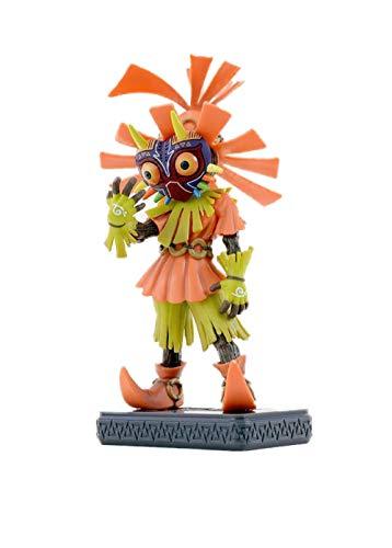 HQYCJYOE Anime Charaktere Modell Legende von Zelda Link Actionfigur Schädel Kid Majoras Maske 3D Statuette Collection Doll 15.3cm