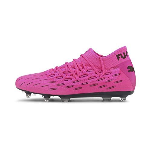 PUMA Herren Future 6.2 Netfit Fg/ag Fußballschuh, Leuchtendes Pink Puma Schwarz, 43 EU