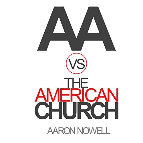 AA vs the American Church audiobook cover art