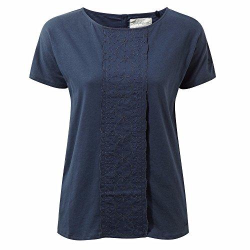 Craghoppers Femmes de Connie T-Shirt à Manches Courtes 38 Soft Navy