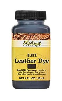 fiebings leather dye black